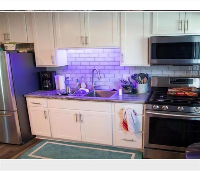 kitchen remodeled after fire