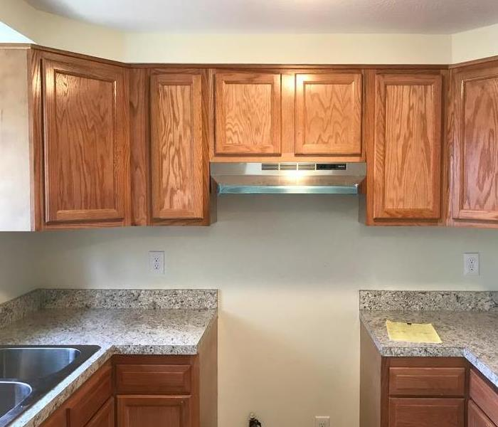 remodeled kitchen after fire