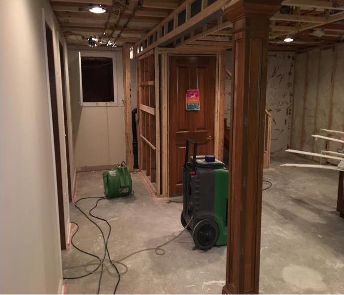 Columbus OH Basement Water Damage Before